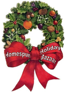 Homespun Holiday Bazaar