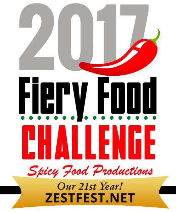 2017 Zest Fest Fiery Food Challenge